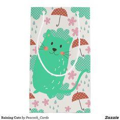 Raining Cats Small Gift Bag