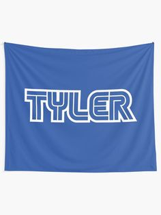 Alternate view of Gamer name Tyler Tapestry Gamer Names, Thing 1, Games To Buy, Textile Prints, Wall Tapestry, Vivid Colors