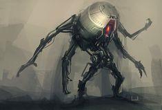 armored robot war