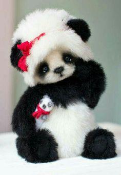 Luna By Natasha Dadykina - Bear Pile Luna By Natasha Dadykina - Bear Pile Cute Panda Baby, Baby Panda Bears, Baby Animals Super Cute, Cute Baby Dogs, Cute Stuffed Animals, Cute Little Animals, Cute Funny Animals, Cute Puppies, Cute Cats