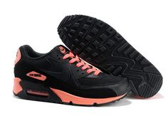 huge selection of fecb1 34e89 Chocks Nike Air Max 90 Shoes Sport For Men Pink Black Sale to Other Nike Air