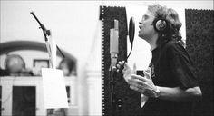 """Glenn Hughes @glenn_hughes in studio 2006 during the """"Music For The Divine"""" recording sessions"""