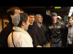 MENNONITE Youth  Singing in the Subway: --  Holy is the Lord - SMBI