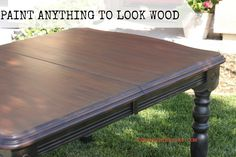 How to Paint anything to look like wood. Easy to follow tutorial showing how to make any surface look like any type of wood. REDOUXINTERIORS.COM FACEBOOK: REDOUX #paintlikewood #modernmasters #redouxinteriors