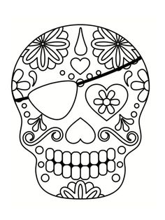 Home Decorating Style 2020 for Coloriage Halloween A Imprimer Tete De Mort, you can see Coloriage Halloween A Imprimer Tete De Mort and more pictures for Home Interior Designing 2020 18519 at SuperColoriage. Skull Coloring Pages, Printable Adult Coloring Pages, Colouring Pages, Coloring Books, Halloween Doodle, Halloween Painting, Skull Stencil, Silhouette Design Studio, Sugar Skull Art