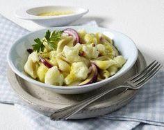Blumenkohlsalat mit Currydressing