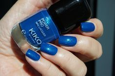 Kiko Power Pro Nail Lacquer - 60 Iridescent Blue