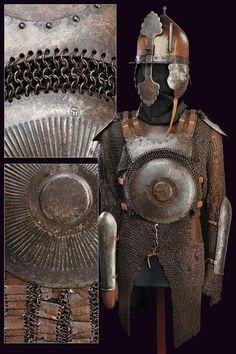 armure  Ottomane du 16eme siècle