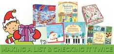 You better watch out. you better start making that list! Here's a delightful array of Christmas books to fill your stockings and fill your hearts! Best Start, Christmas Books, Book Title, Cool Watches, Fill, Hearts, Stockings, Comics, How To Make