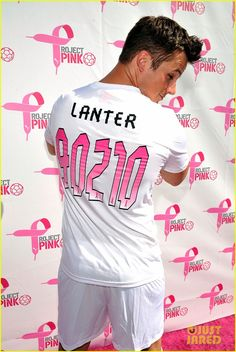 : Photo Joshua Bowman wraps his arm around his Revenge co-star Connor Paolo during the Puma Project Pink celebrity soccer match on Saturday (October in Fullerton, Calif. Matt Lanter, Angela Lanter, Matt Dillon, Soccer Match, Celebs, Celebrities, Most Beautiful Man, Best Actor, Hot Guys