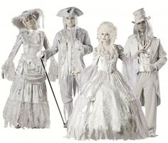 Victorian Ghost Costumes - a great example of how details make the costume…