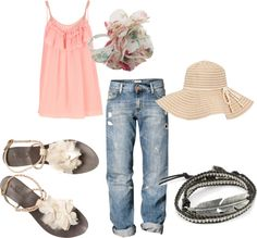 """""""summer"""" by jannamichele ❤ liked on Polyvore"""