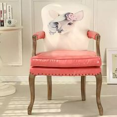 Find Cheap Designer Furniture Now Cheap Designer, Accent Chairs, Armchair, Furniture Design, Shabby Chic, Design Inspiration, Vintage Leather, Animal, Pink