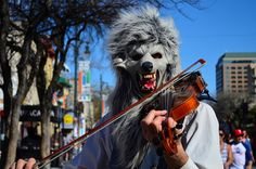 Wolf Busker @ SXSW 2013 by kat.berry, via Flickr