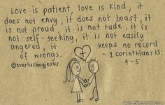 Love Quotes Pictures and Sayings - Love is patient, Love is kind - http://meaningfullquotes.com/love-quotes-pictures-and-sayings-love-is-patient-love-is-kind/