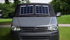 Solar-Thermomatte mit Magnet-Befestigung
