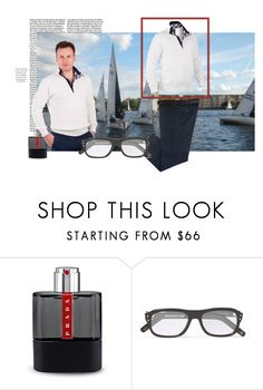 """Sail Exp"" by ggelingen on Polyvore featuring Prada, men's fashion и menswear"