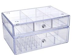 Not One But Two Cosmetic Organizers by Lori Greiner