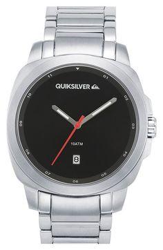 Quiksilver 'The Sovereign' Bracelet Watch, 43mm http://www.thesterlingsilver.com/product/hugo-boss-gents-watch-chronograph-xl-leather-1513093-quartz/