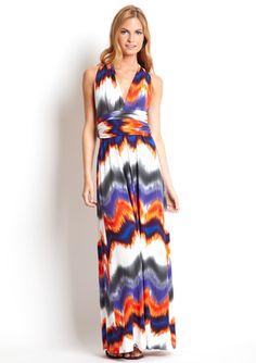 Tart Maxi Infinity Dress- Volcano
