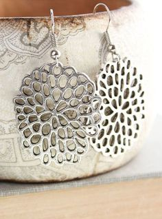 Bubble Dangle Earrings Modern Fashion Drop by apocketofposies