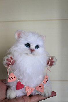 любитель кошек подарок на день рождения персонализированные свадебного подарка подруга подарков женщины подарок для невесты подарок для своей лучшего друга идеи подарков иглы войлочного
