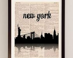 new york city skyline wallpaper black and white hand drawn - Google Search