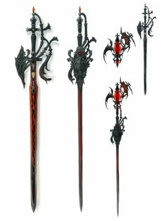 View an image titled 'Red Mage Rapier Art' in our Final Fantasy XIV: Stormblood art gallery featuring official character designs, concept art, and promo pictures. Fantasy Sword, Fantasy Armor, Armor Concept, Weapon Concept Art, Armas Ninja, Cool Swords, Sword Design, Final Fantasy Xiv, Final Fantasy Weapons