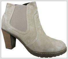 Stiefelette aus Leder von Patrizia Dini - Farbe Sand Gr. 39 - Stiefel für frauen (*Partner-Link)