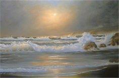 Wie malt man Wellen