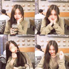 9X nổi tiếng vì sở hữu gương mặt giống tiên nữ cử tạ Lee Sung Kyung Best Photo Poses, Girl Photo Poses, Girl Photos, Cute Girl Face, Cute Girl Photo, Korean Best Friends, Lee Sung Kyung, Ulzzang Korean Girl, Selfie Poses