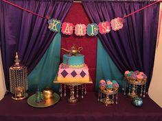 Shimmer and Shine Birthday party ideas