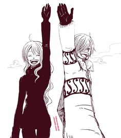 Sanji and Nami #one piece
