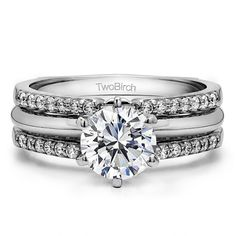 This wedding ring guard has 28 round, prong set stones. This ring guard has carats total weight. It is made to fit a round solitaire from carats to or a princess cut solitaire from up to or a m Wedding Ring Enhancers, Engagement Ring Enhancers, Engagement Rings, Wedding Rings Solitaire, Wedding Bands, 1 Carat, Ring Guard, Vintage Diamond, Opal Rings