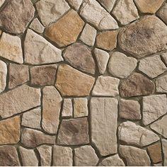 Heritage Top Rock Fieldstone rock siding panels
