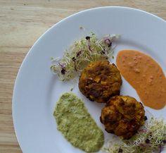 Rocket and Roses Vegan Kitchen: Cookbook Review: World Food Cafe Vegetarian Bible. East African Wilderness Sweet Potato Patties with East African Piri Piri & Mozambique Piri Piri