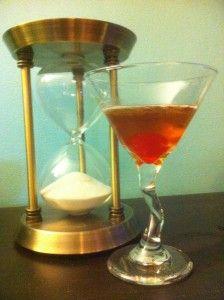 Manhattan made with Angel's Envy Bourbon.