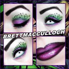 The Riddler¿? by Brett MacCulloch http://www.makeupbee.com/look.php?look_id=80829