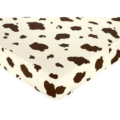 @Overstock.com - Sweet JoJo Designs Wild West Cowboy Fitted Crib Sheet - This whimsical fitted crib sheet by Sweet JoJo Designs is the ideal accessory for any future cowboy or cowgirl. It is made entirely of cotton for added comfort on your baby's skin, and it is machine washable, which makes cleaning easy.   http://www.overstock.com/Baby/Sweet-JoJo-Designs-Wild-West-Cowboy-Fitted-Crib-Sheet/7599361/product.html?CID=214117 $18.99