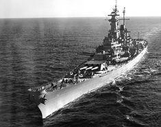 USS Wisconsin BB-64 - Iowa class Battleship