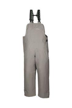 SPODNIE OGRODNICZKI WODOOCHRONNE Model: 2003  Spodnie ogrodniczki produkowane bardzo wytrzymałej z tkaniny Seal Skin. Tkanina ta charakteryzuje się wysoką odpornością na słoną wodę. Produkt dedykowany jest szczególnie pracownikom wykonującym ciężkie prace rybackie w ekstremalnie trudnych warunkach na morzu, zapewniając ochronę przed silnym wiatrem i deszczem.
