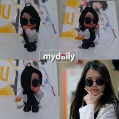Japanese fan creates a figurine doll of singer IU #allkpop #kpop #IU