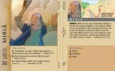 Cartão Bíblico: Miriã