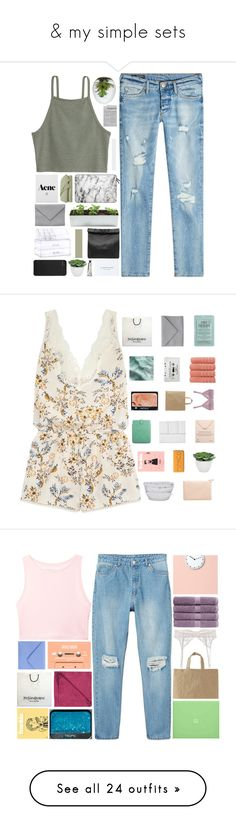 """""""& my simple sets"""" by cashmer-e ❤ liked on Polyvore featuring True Religion, Casetify, Ann Demeulemeester, Marie Turnor, Incase, Torre & Tagus, L:A Bruket, STELLA McCARTNEY, Kocostar and Makroteks"""