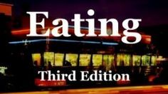 Eating, the film: If you know someone with heart disease - and who doesn't? - Eating will probably be the most valuable film they will ever watch - and from authorities with impeccable credentials. And if you eat to prevent heart disease, you will also prevent the other major diseases that are plaguing Western nations.