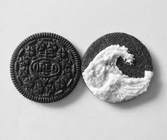 #oreos #waves #art #shovings #cookies