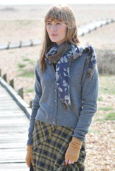 V Neck Cashmere Cardigan - Womens Cardigans | Brora