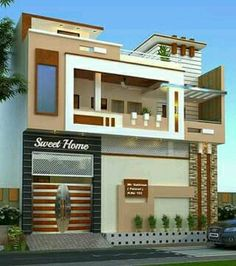 Marvelous Building Elevation, House Elevation, House Front Design, Modern House Design,  Front Elevation