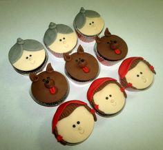 cupcake chapeuzinho vermelho | Mini cupcakes chapéuzinho vermelho.jpg