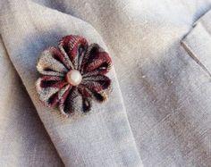 Mens Lapel Pin Flower Custom Lapel Pins Men by exquisitelapel